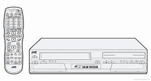 Jvc Dr-mv1 - Manual - Dvd  Vhs Video Recorder