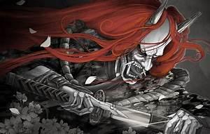 Demon Japonais Dessin : hannya le d mon japonais vengeur ~ Maxctalentgroup.com Avis de Voitures