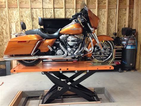 Sunk my MC Lift Table   Harley Davidson Forums