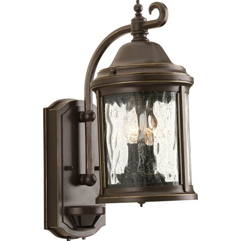shop progress lighting ashmore 15 in h antique bronze