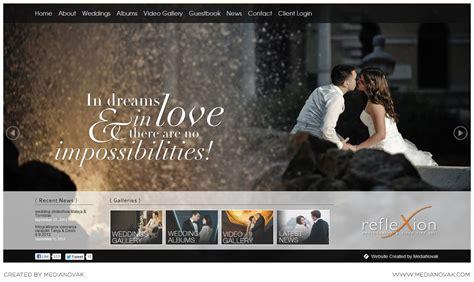 modern trends  photography websites wedding