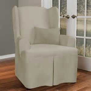 maytex canvas wing chair slipcover walmart com