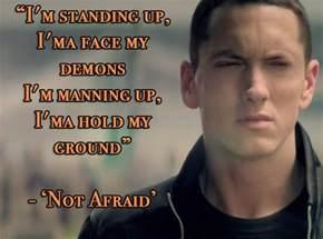 Eminem Not Afraid Lyrics