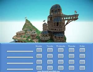 Free Printable Customizable Minecraft Behavior Charts