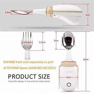 GYENNO Parkinson Spoon, Anti-Tremble Gyroscopic Tableware ...