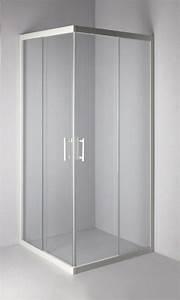 Fermeture De Douche : paroi de douche verseau acces d 39 angle coulissant 90x90 cm ~ Edinachiropracticcenter.com Idées de Décoration