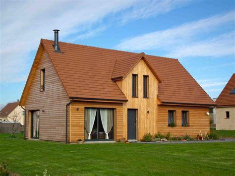 maison rt 2012 ossature bois 83 m 178 combles am 233 nageables proche de rouen 76 normandie e2r