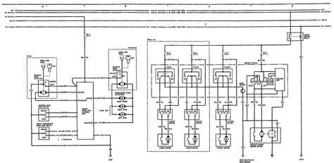 acura integra  wiring diagrams power locks