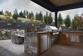 Outdoor Kitchen Plans by Outdoor Kitchen Ideas Country Deck Patio TTM Development
