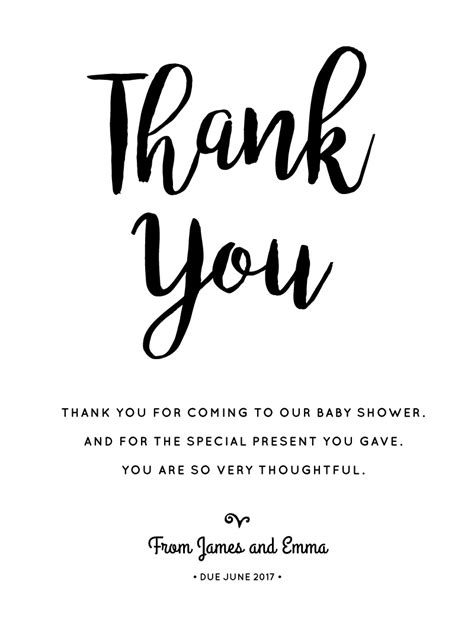 How To Write Thank You Cards For Baby Shower by Our Family Is Gro Dp Baby Shower Thank You Cards