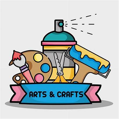 Craft Creative Vector Object Crafts Arts Clipart