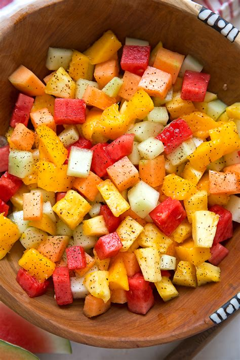 Mexican Fruit Salad - Little Spice Jar
