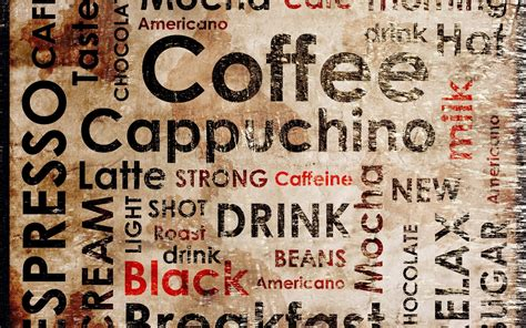 Coffee Designs Wallpapers by Wallpaper 2560x1600 Px Coffee Typography 2560x1600