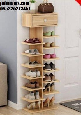 Rak Sepatu Murah Minimalis Grace jual rak sepatu minimalis kayu jati terbaru yang kami