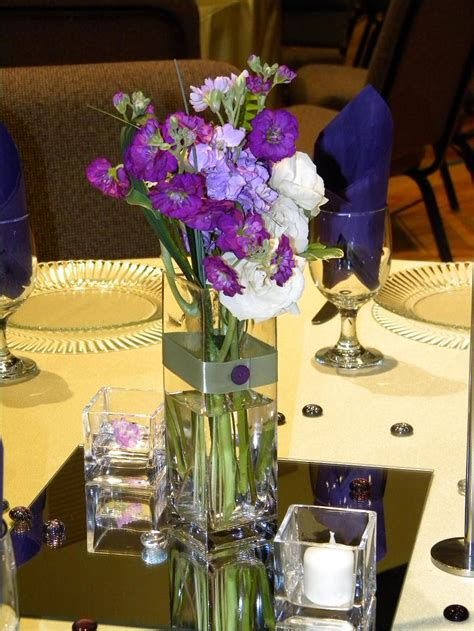 flower table decorations for weddings incredible image of wedding table decoration using purple