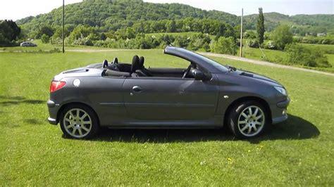 Peugeot 206 Convertible by 2005 55 Peugeot 206 Cc 1 6 Convertible 65k Fsh