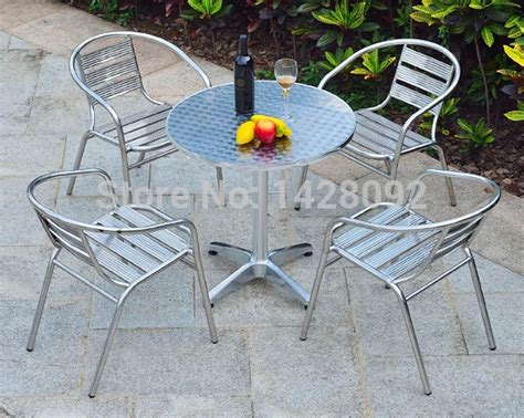 outdoor stainless steel combination of simple leisure