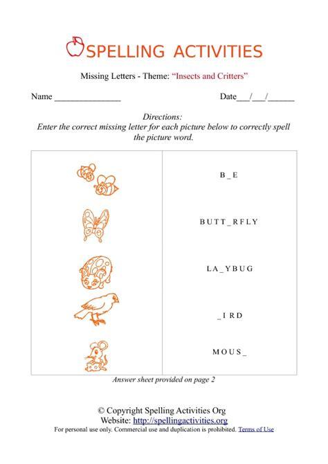spelling bee worksheets new calendar template site