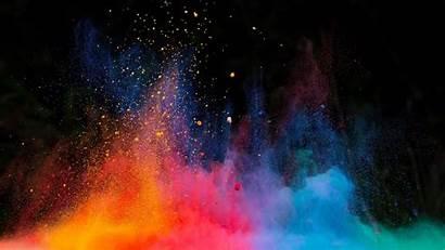 Explosion Nuclear Dust Multicolor Tens Studio