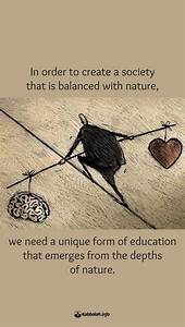 Quotes about Ba... Balanced Education Quotes