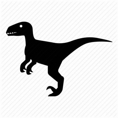 Velociraptor Dinosaur Svg Raptor Icon Jurassic Carnivore