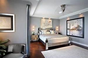 Haus Gestalten Spiele : einrichtung schlafzimmer beispiele mit wandfarbe grau ~ Lizthompson.info Haus und Dekorationen