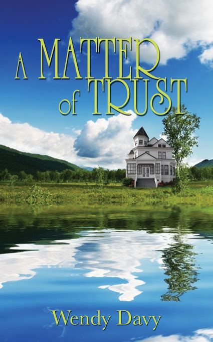 A Matter Of Trust A Christian Blackthorpe Volume 3 by An Imperfect Christian Author Spotlight Award