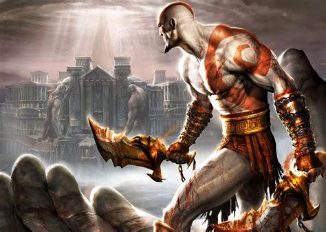 espadas del caos god  war man  arms hacking land