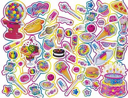 Frank Transparent Kiddie Stickers Lisa Notes