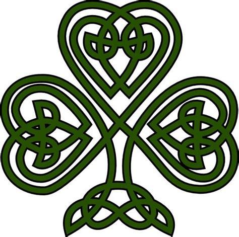 Celtic Clip Celtic Design Shamrock Clipart