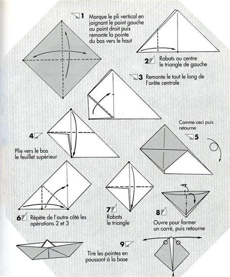 quot bateau sur l eau quot 2 2 jeux pinterest origami et