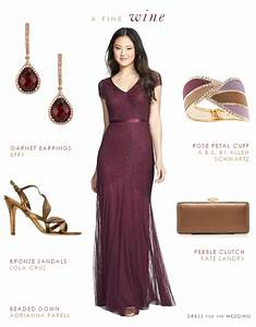 burgundy dresses With wine color dress for wedding