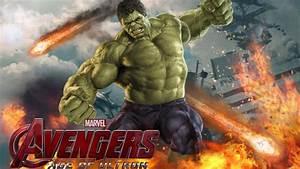 Marvel Movie Avengers Age Of Ultron Hulk Wallpaper Hd For ...