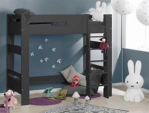 Lit Mezzanine Pour Enfant : lits superpos s enfant anthracite london ~ Teatrodelosmanantiales.com Idées de Décoration