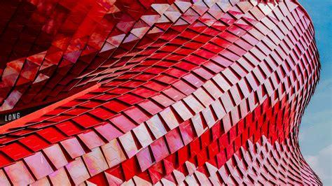 wallpaper vanke pavilion red  architecture