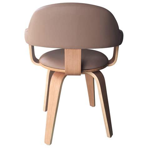 technique de la chaise chaise scandinave vintage bicolore pivotante revsund