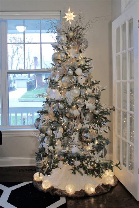 winter wonderland christmas tree modique