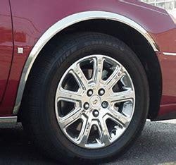 cadillac deville dts dhs chrome wheel  fender trim