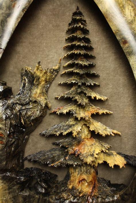 backwoods  buckeye burl carving  gary burns