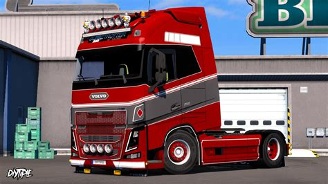 skin roling  volvo fh  ohaha  ets euro