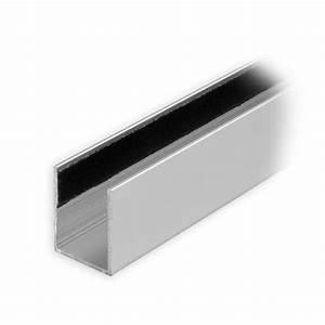 Rolladen Führungsschienen Kunststoff : maxi aluminium f hrungsschiene 25 x 19 x 25 mm beflockt silber mattiert diwaro ~ Orissabook.com Haus und Dekorationen