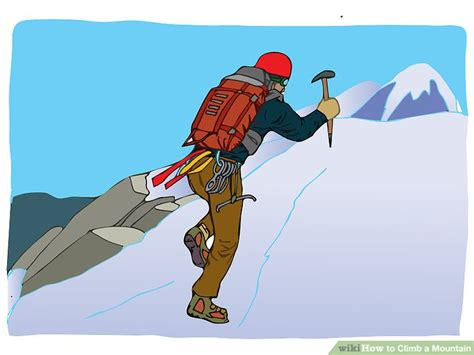 How To Climb A Mountain 13 Steps (with Pictures) Wikihow