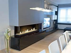 Cheminée Centrale Prix : cheminee suspendue moderne prix ~ Premium-room.com Idées de Décoration