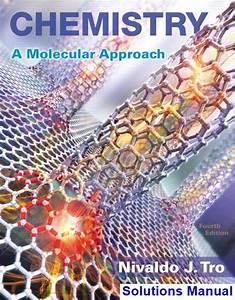 Chemistry A Molecular Approach 4th Edition Tro Solutions