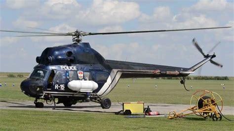 Mil Mi-2 Patrol Helicopter At Siófok-kiliti Airport, Near
