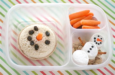 snowman inspired snack recipes