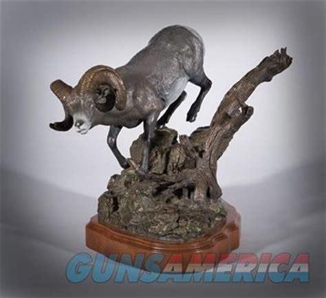 rocky mountain big horn sheep bronze sculptur  sale