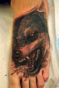 Tatouage Loup Celtique : un tatouage de loup 8 inkage ~ Farleysfitness.com Idées de Décoration