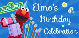 Here's A Live Elmo Birthday Celebration For His Birthday