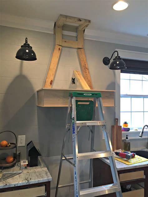 diy wood vent hood kitchen wooden range hood kitchen